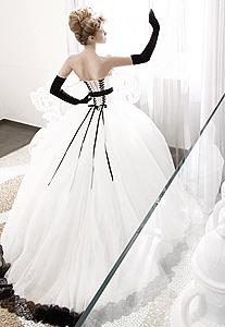 Итальянские свадебные платья из шелка.