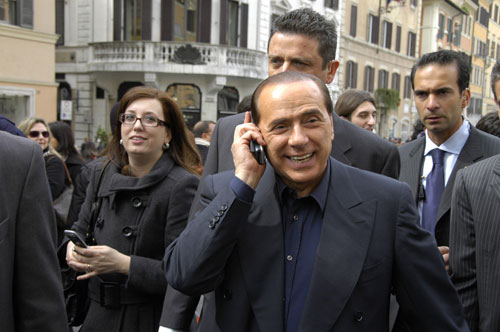 Премьер-министр Италии Сильвио Берлускони. Фото Italy News