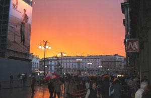 Милан. Пияцца Дуомо (Piazza Duomo)