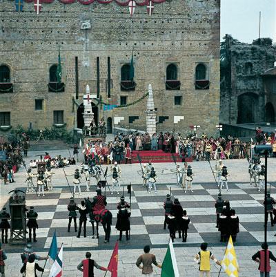 Маростика. Шахматная партия (Marostica. Partiscacchi)