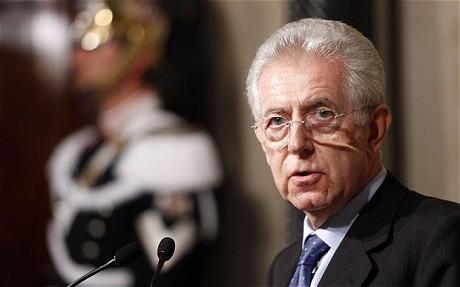 Монти новый премьер министр италии