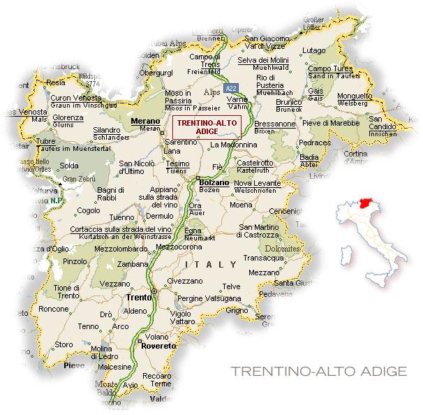 Трентино (Италия)