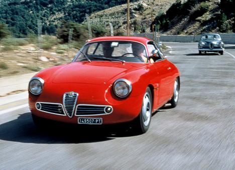 Ещё одна изразновидностей модели Giulietta— версия SZ— была впервые показана в1960году.