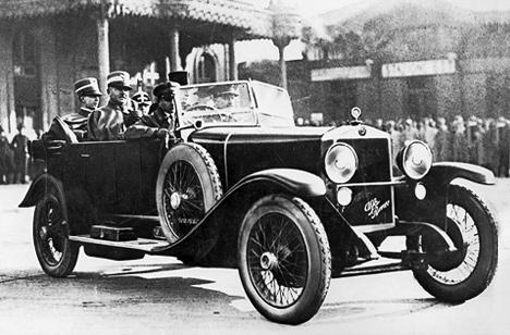 Один изсамых красивых автомобилей своего времени— Alfa RomeoRL— произвёл фурор своим появлением в1920году.