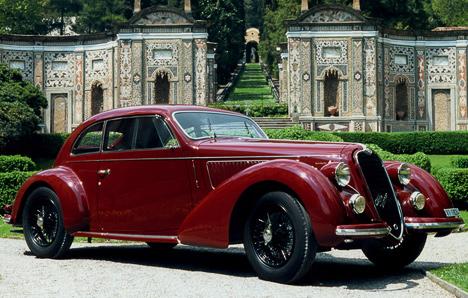Alfa Romeo6C2300, имеющая вназвании довесок Mille Miglia,— специальная версия, посвящённая одноимённой гонке.