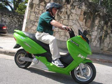 Экологически чистые скутеры в риме