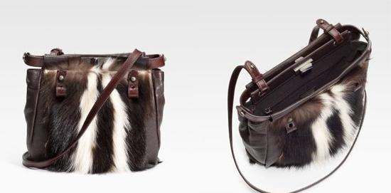 от...  Skunk Fur Peekaboo Roll Bag.  Многие животные пожертвовали своим...