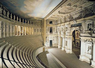 """Театр """"Олимпико"""" (Teatro """"Olimpico"""")"""